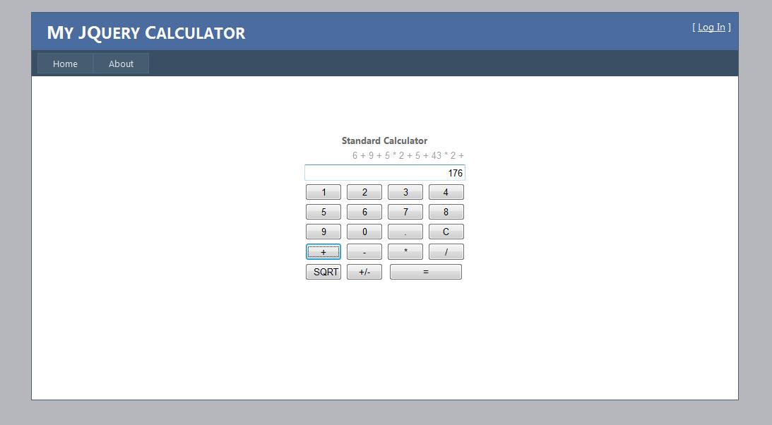 Jquery Calculator Net Gene