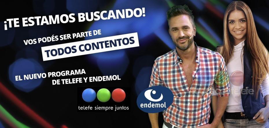 Televisi n argentina todos contentos buscando talento for Diario el show del espectaculo