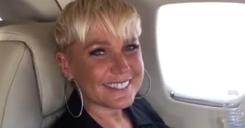 URGENTE: Raio atinge avião onde estava Xuxa, veja o vídeo feito pela apresentadora