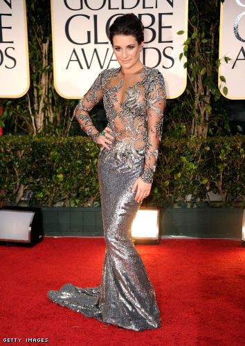 golden globes red carpet 2012