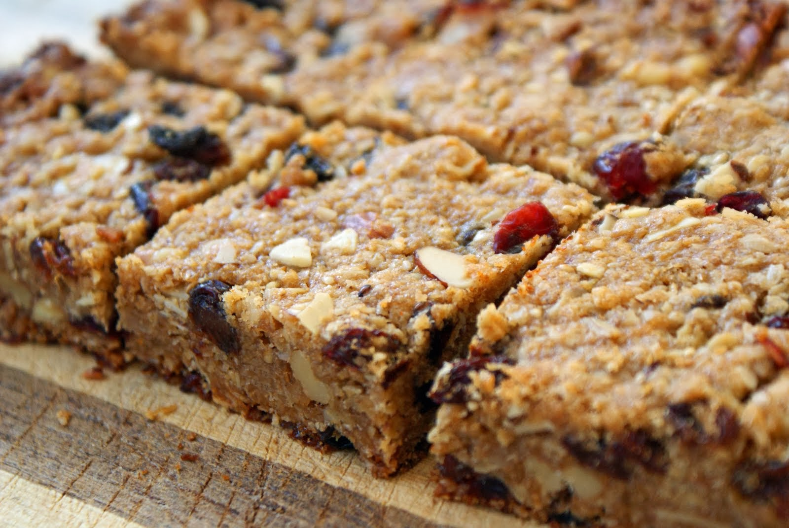 The Deliberate Agrarian: I Invented Granola Bars