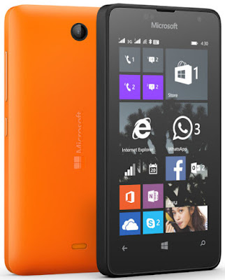 Microsoft Lumia 430 Dual SIM complete specs and features