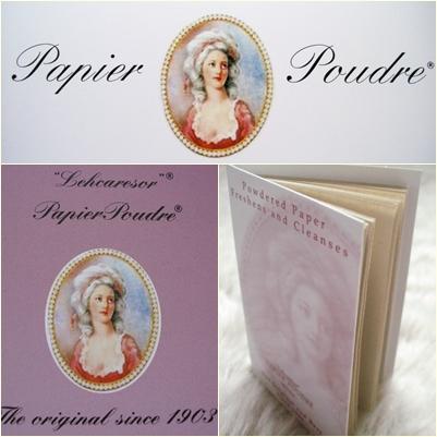 Lehcaresor Papier Poudre - Powdered Blotting Paper