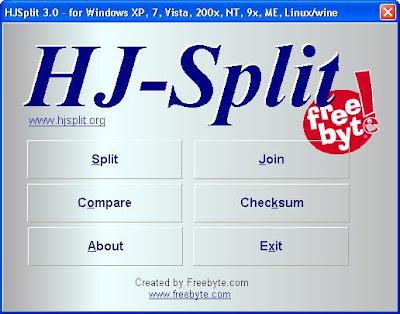 Cara Menggunakan HJSplit