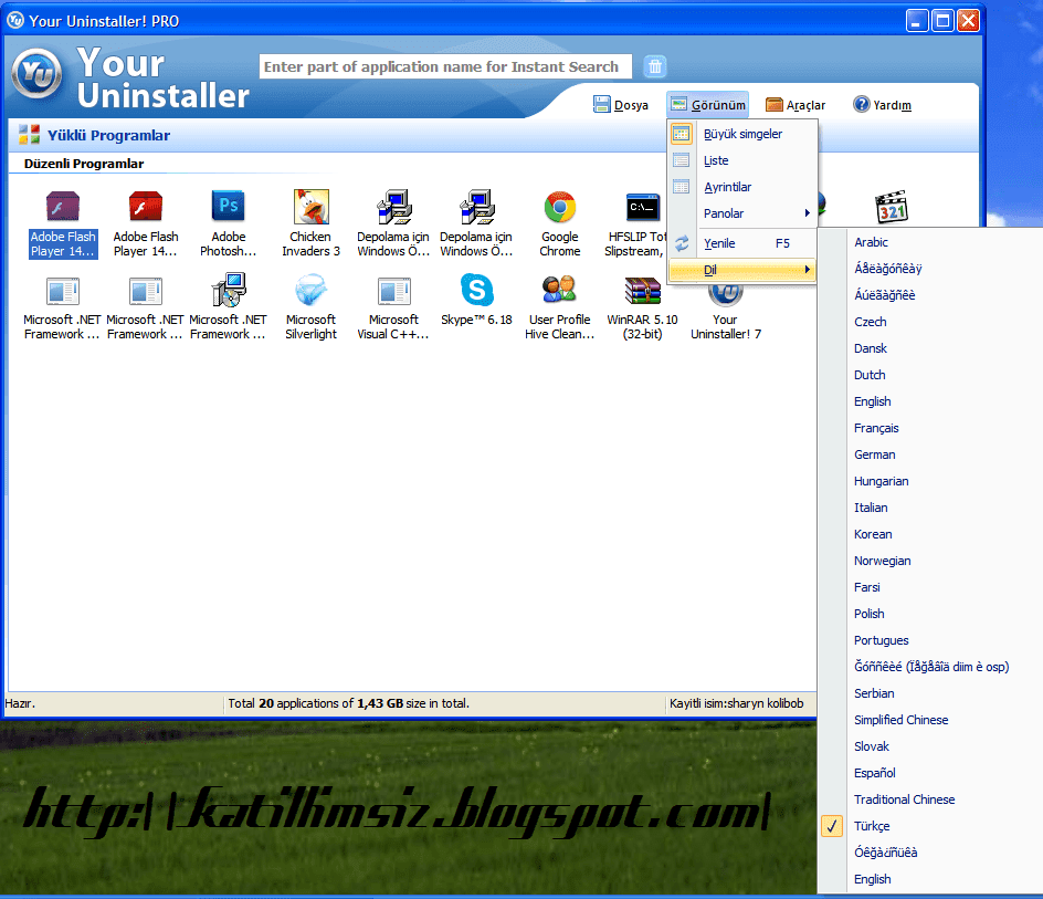 Download your Uninstaller 2010 Full version