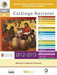 Catálogo Nacional 2012-2013 (descargar)