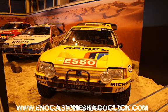 Peugeot 205 Turbo16 Dakar en Madrid Motor Days