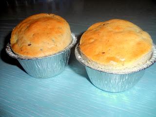 Muffin con pezzi di cioccolato fondente