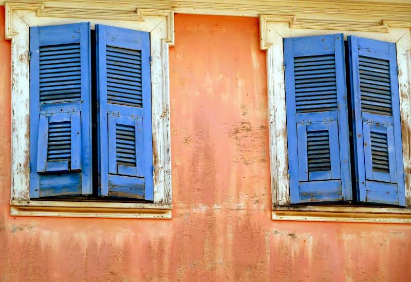 Traditionelle Architektur Lefkada Stadt