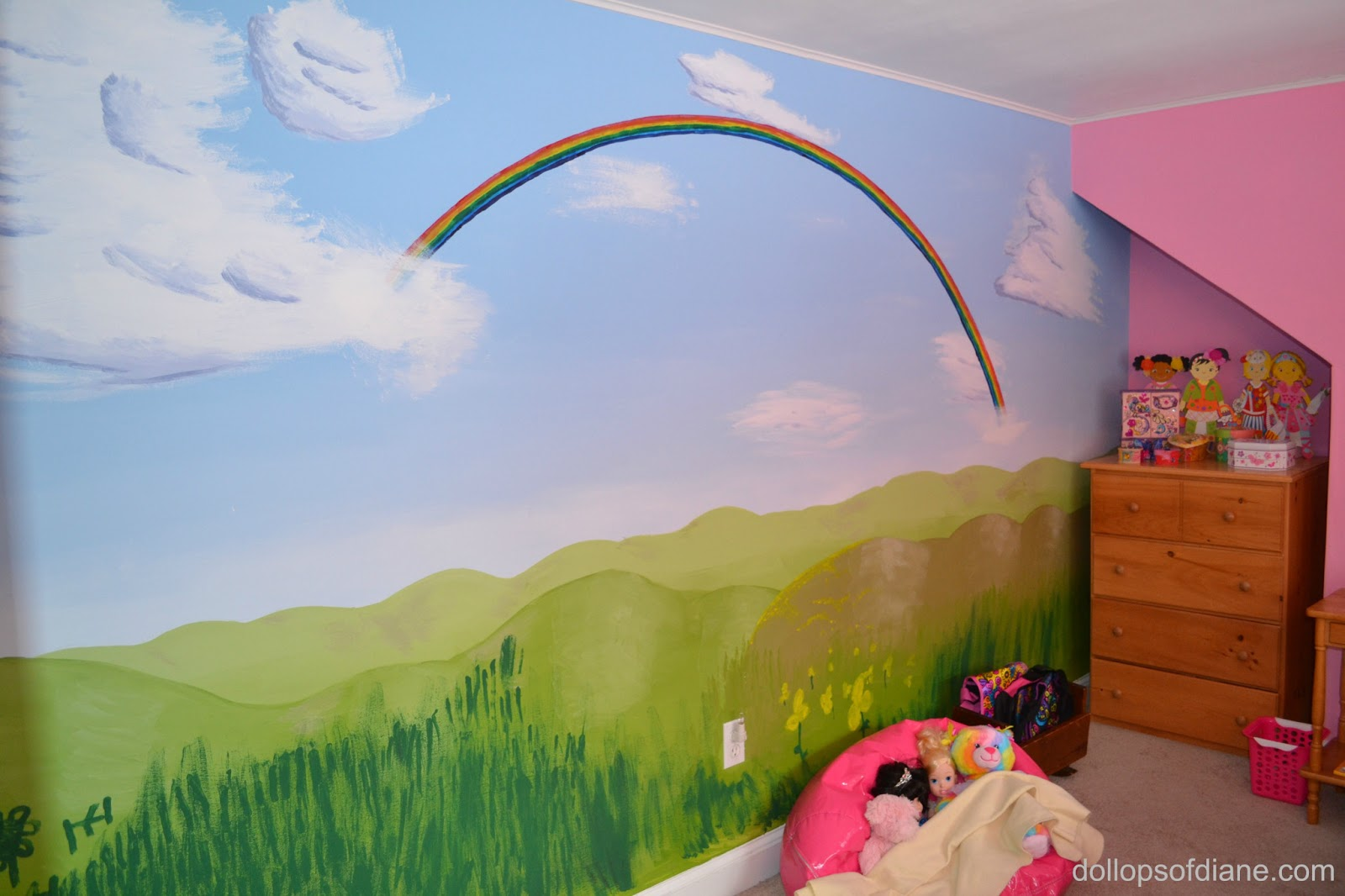 6 Year Old Girl Room : Year Old Girl Room : My husbands masterpiece (with a little help ...