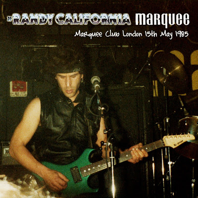 Cover Album of Randy California Band - Marquee Club - London - UK - May 15th 1985 (Flac)