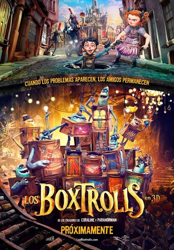 Póster de Los Boxtrolls