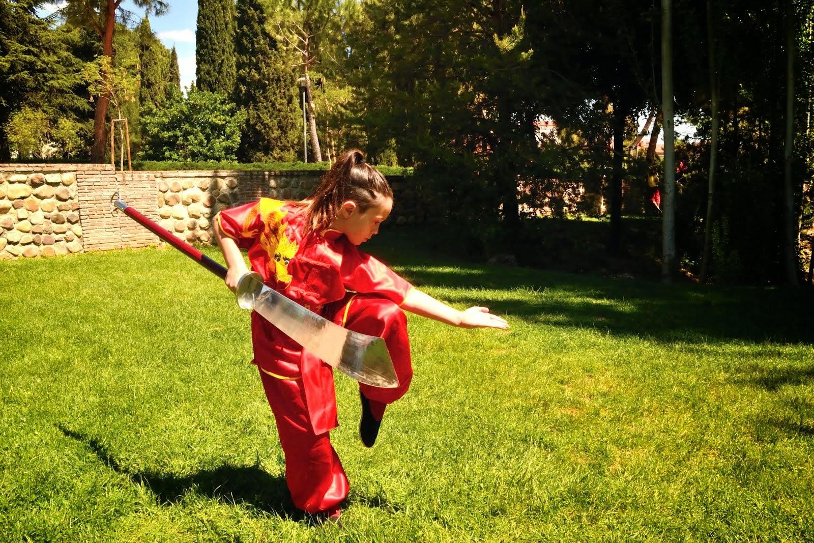 Wushu Armas Master Senna