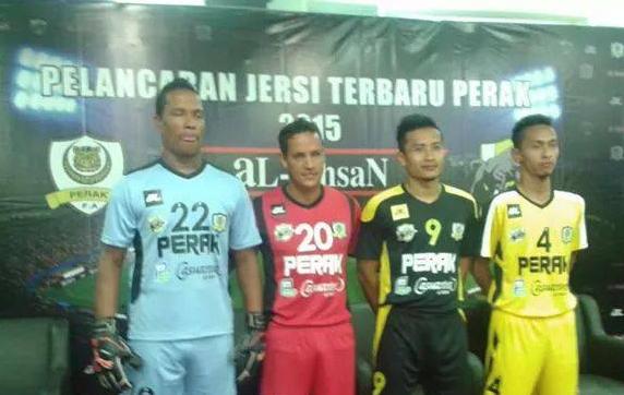 Jersi Perak 2015