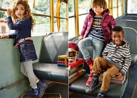 ropa infantil H&M Vuelta al cole otoño invierno