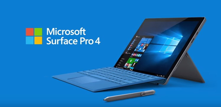Microsoft Surface Pro 4 in official Microsoft promotion video