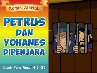 Petrus dan Yohanes Dipenjara