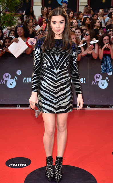 Actress, Model @ Hailee Steinfeld - 2015 MuchMusic Video Awards in Toronto