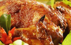 Resep Ayam Panggang Bumbu Rujak Jawa Timur