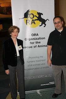 Claudia Vecchio and Nathan Winograd in Toronto
