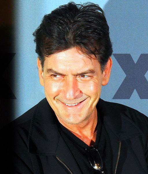 Charlie Sheen auf der FX Ad Sales Upfront 2012