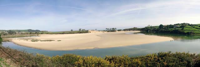 Playa La Rabia en Parque Natural de Oyambre
