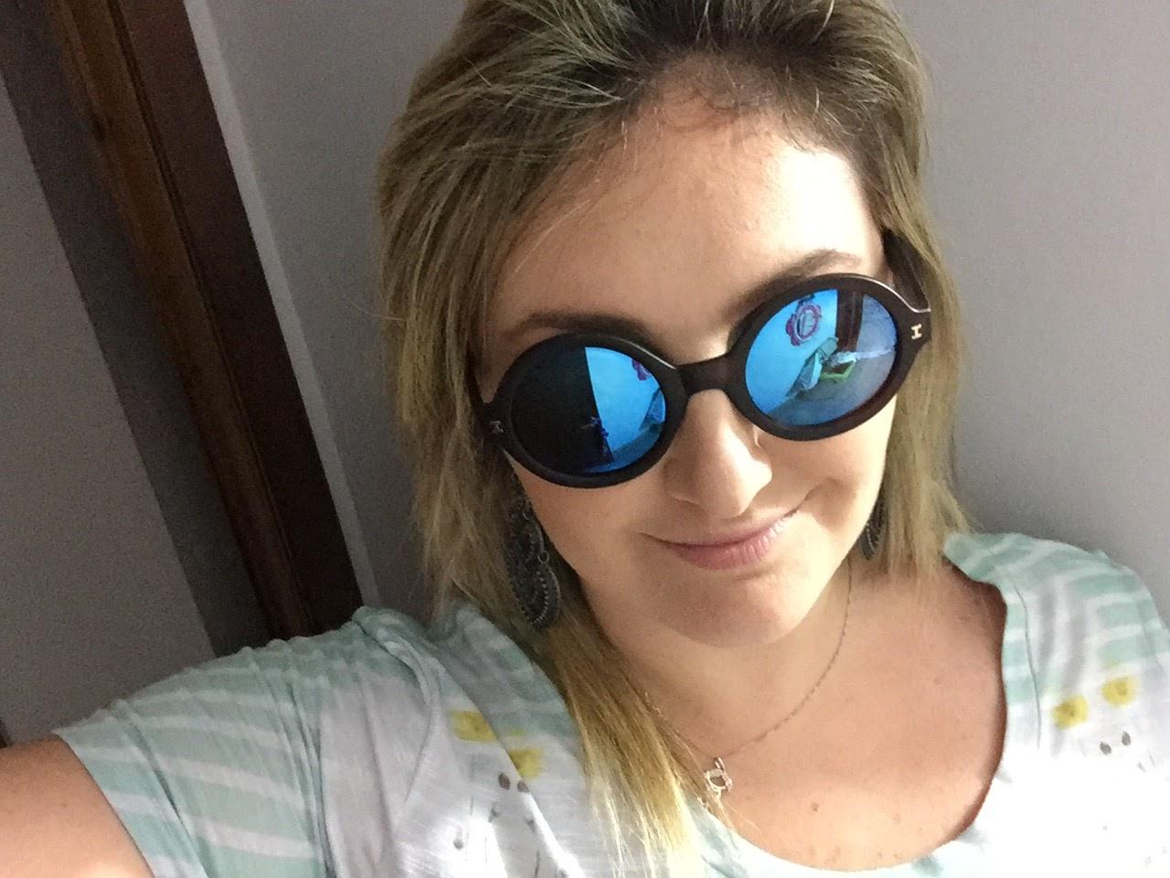 óculos illesteva lente espelhada Maria Chica Bijuterias ... blog Mamãe de Salto/ todos os direitos reservados