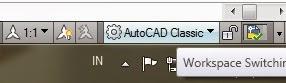 Cara Merubah AutoCAD Menjadi AutoCAD Classic.