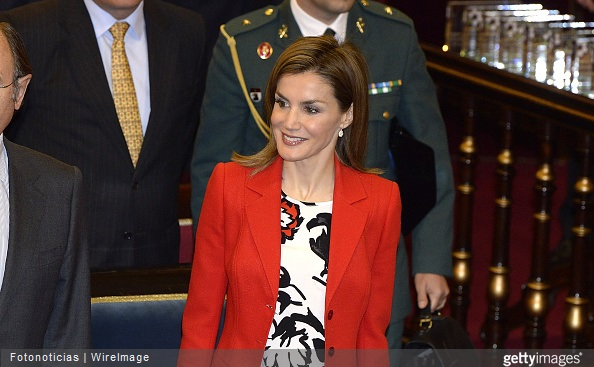 Queen Letizia of Spain attends the Rare Diseases World Day Event at the Senate Building
