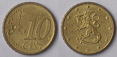 finland 10 cent 1999