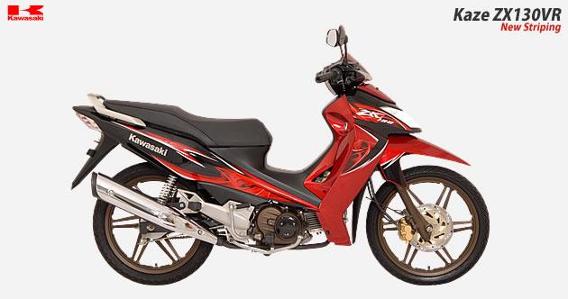Spesifikasi Kawasaki Kaze Zx130 Spesifikasi Motor Motorcyle