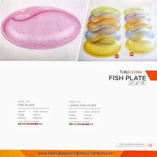 fish plate tulipware 2013