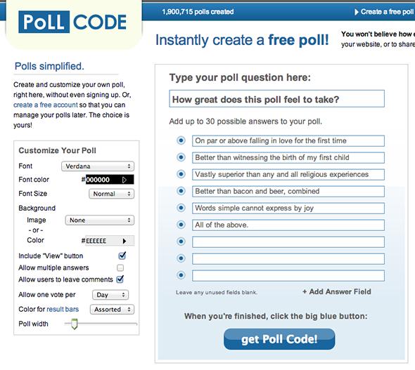 Poll Code