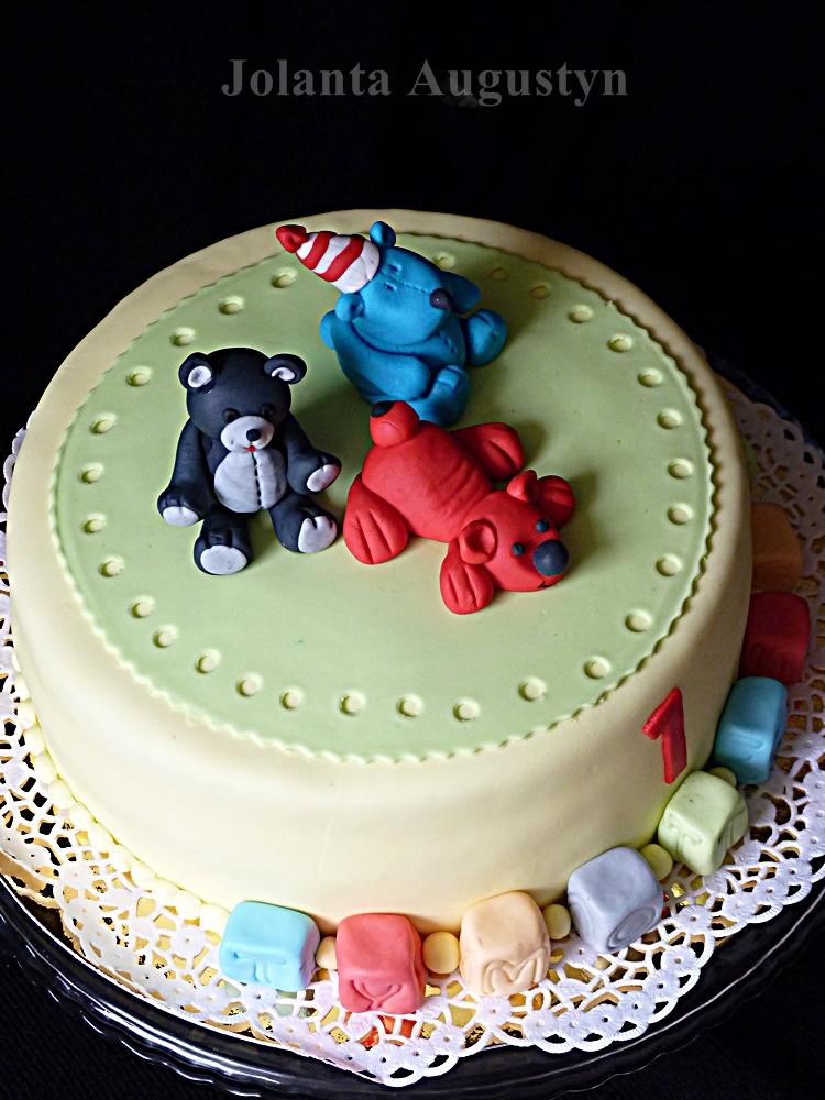 tort z misiami