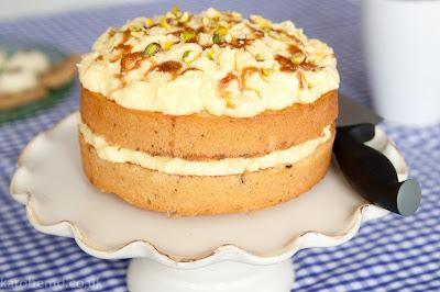 Pop Up Sponge Cake Recipe