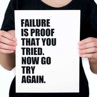 failure-hard truth-never give up