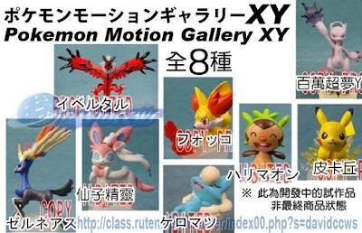 Pokemon Motion Gallery Figure XY Bandai