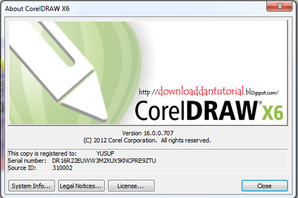 aplikasi coreldraw x6 full crack