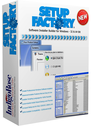 IndigoRose Setup Factory v9.0.4.0 Full
