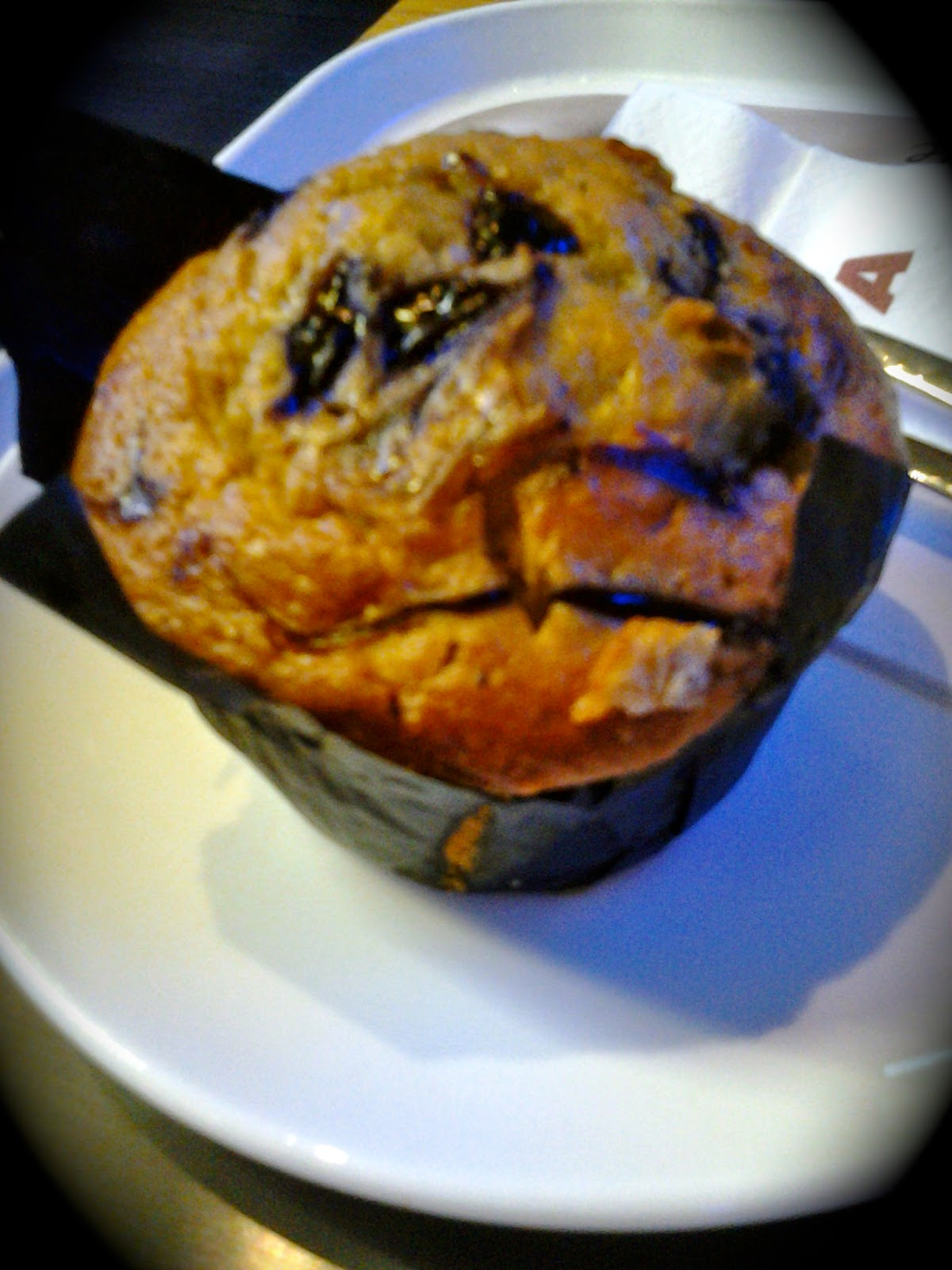 Costa Cafe Blueberry Muffin Singapore