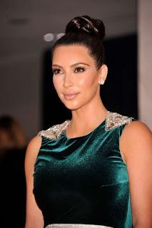 Kim Kardashian White House, Kim Kardashian Green Gown