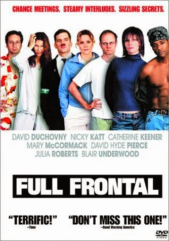 Full Frontal (Released in 2002) - Disappointing movie - Starring Catherine Keener, David Duchovny, Julia Roberts, Mary McCormack, Brad Pitt