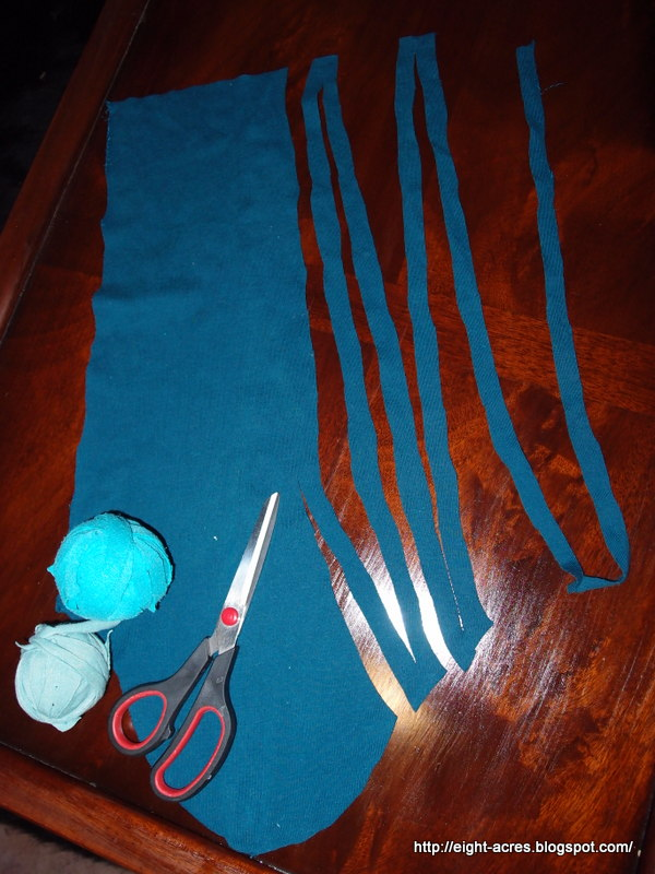 Here S How To Cut One Long Strip From An Odd Shape Of Fabric