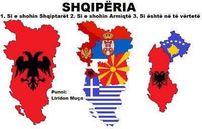 Albania : come la vedono gli albanesi , come la vedono i nemici e com'è realmente