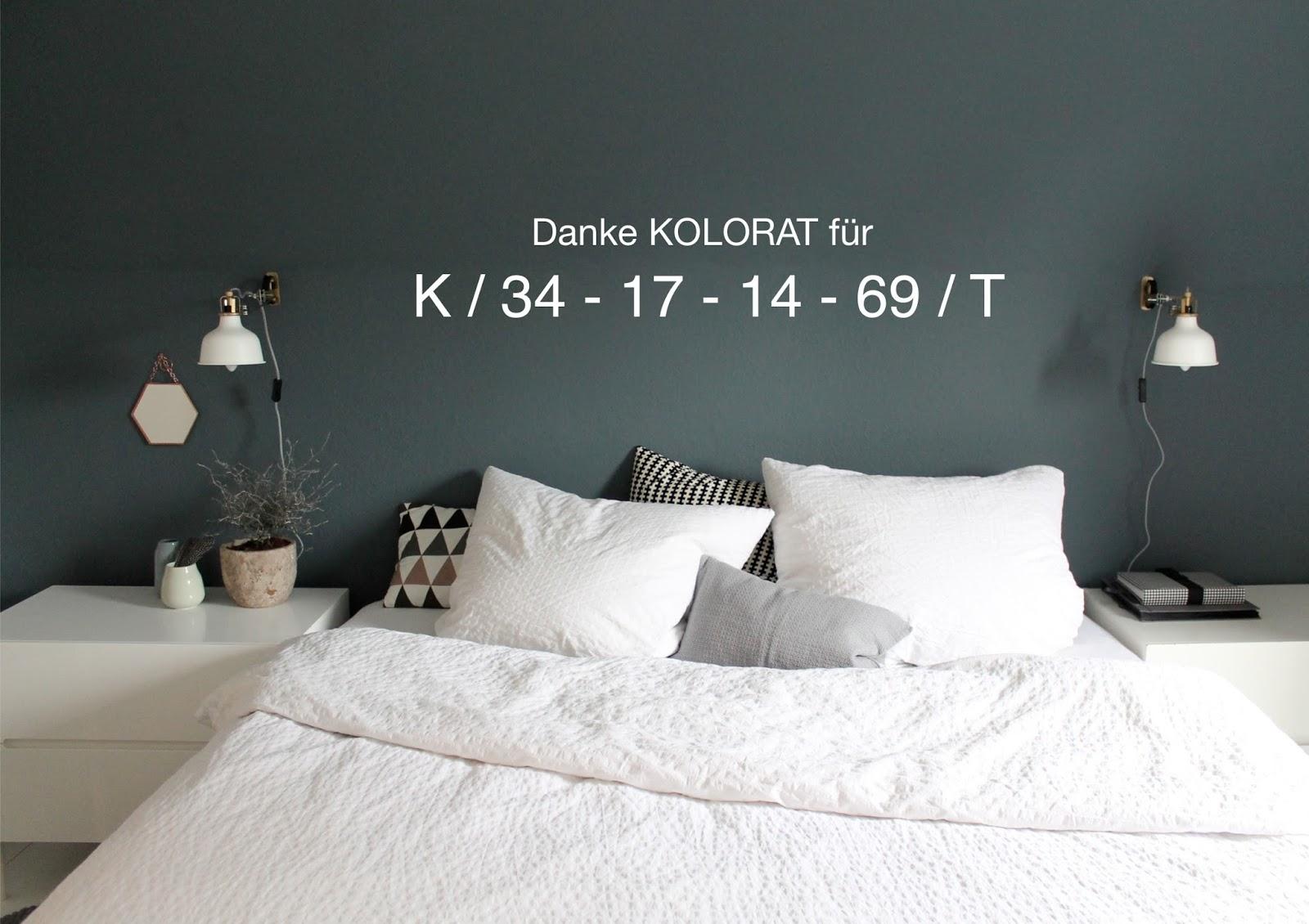 U2026.es Wird Herbstlichu2026im Schlafzimmer. Schon Wieder Umgestrichen!