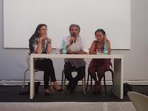 Roma, Isola Tiberina, 20 giugno 2013, con Alessandra Buccheri e Claudio Ceciarelli