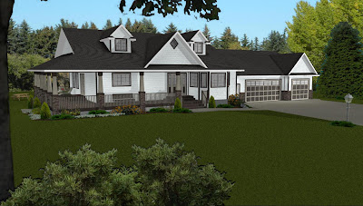 Daylight ranch style house plans with walkout basement, also referred