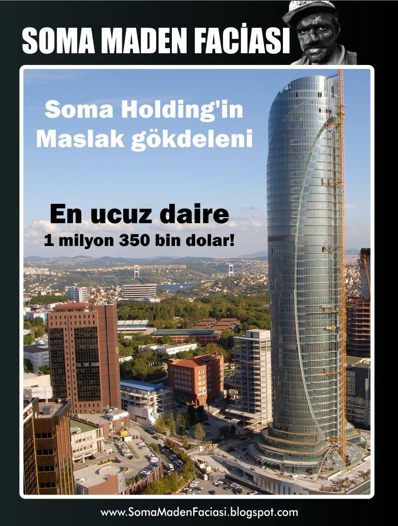 Soma Holding'in Maslak gökdeleni: en ucuz daire 1 milyon 350 bin dolar