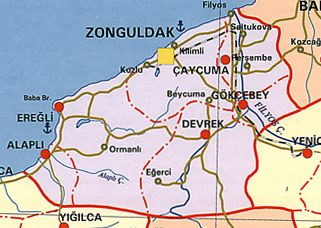 Zonguldak Siyasi Haritas�