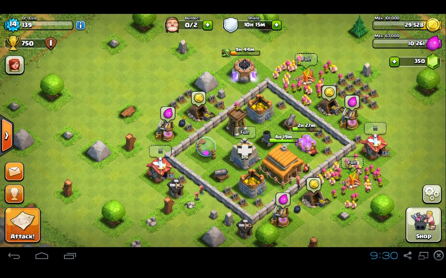 Clash of Clans Town Hall Level 3
